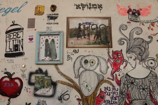סיור גרפיטי בתל אביב