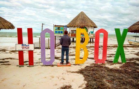 מקסיקו: האי הולבוש – יום אחד היה מזג אוויר