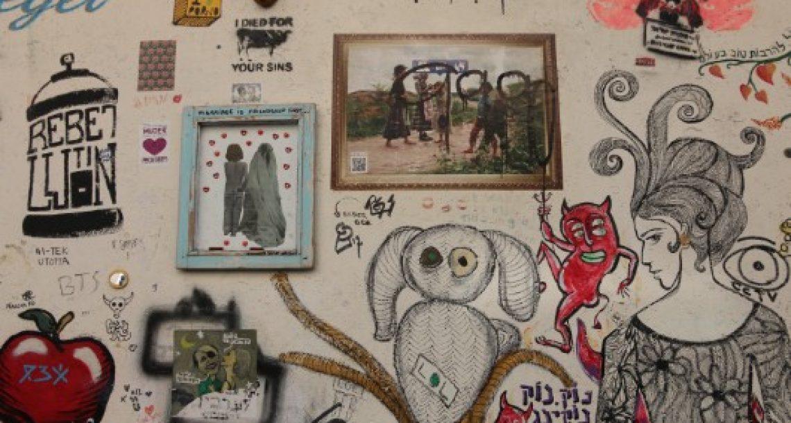 סיור גרפיטי בתל אביב – המסרים הויראליים של פעם